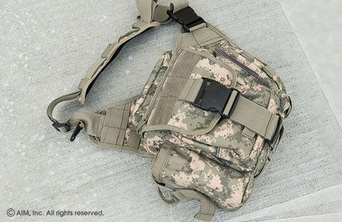 UTG Multi-Function Tactical Messenger Bag Digital Camo