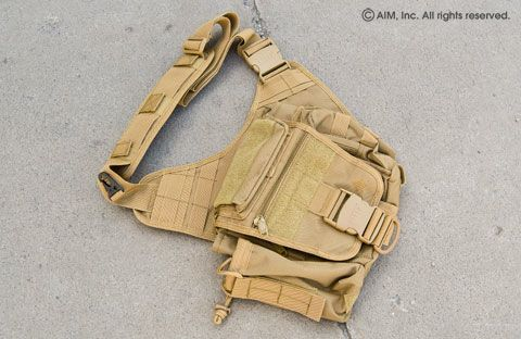 UTG Multi-Function Tactical Messenger Bag Tan