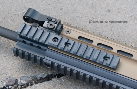 Branham Tactical Scar Extension Rail 2""
