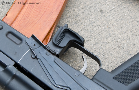 Command Arms Tactical AK Mag Release