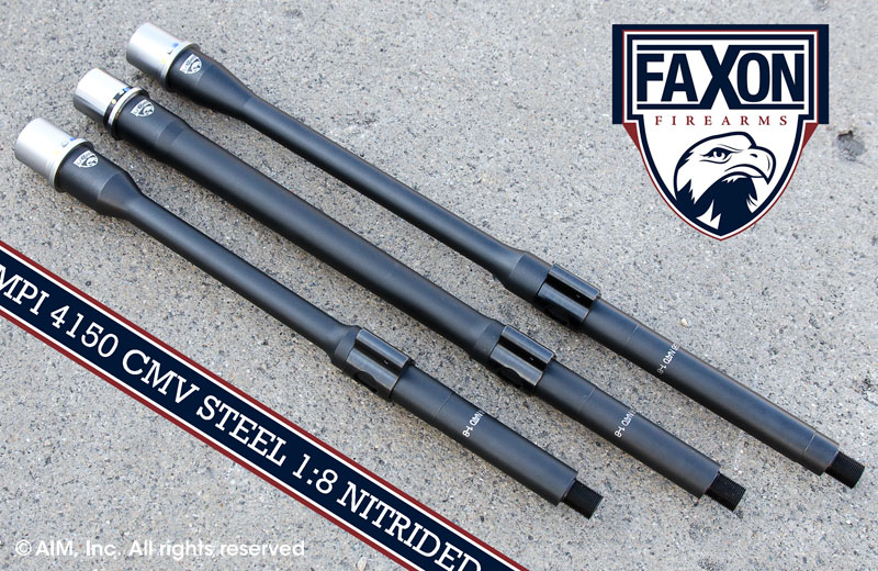 FAXON FIREARMS 5.56 AR Nitrided Barrels