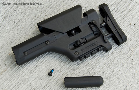 Magpul Gen II PRS Precision Rifle Stock Black