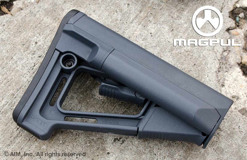 Magpul STR Carbine Stock Stealth Gray Mil. Spec