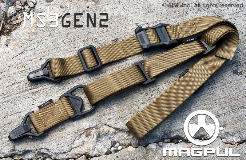 Magpul Gen 2 MS3 Multi-Mission Sling Coyote Brown