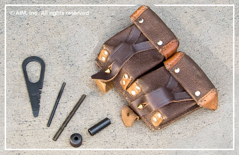 Original Mosin Nagant Rifle Ammo Pouch and Tool Kit