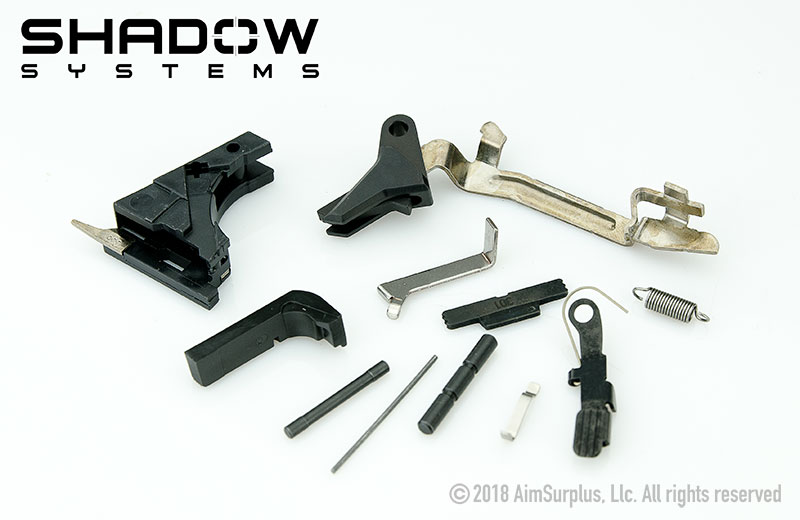 SHADOW SYSTEMS P80 Glock Frame Completion Kit with Elite Trigger